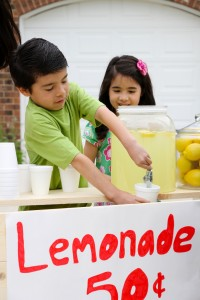 Personanl Baby Products -lemonade stand