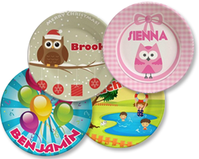 Special on personalized gift plates for kids
