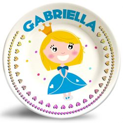 Girl Princess Fantasy personalized name plate.