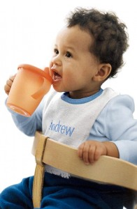 Seek out BPA-free products to keep your child healthy.